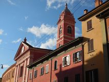 Colors of Bologna, Italy royalty free stock photo