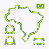 Colors of Brazil Royalty Free Stock Photography