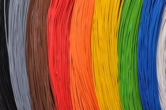 The colors of broadband networks Stock Image