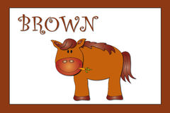 Colors: brown Stock Image