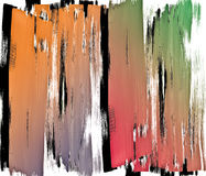 Colors brush strokes pattern Royalty Free Stock Photo