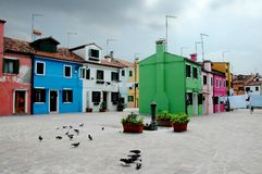 Colors of burano 3 Stock Image
