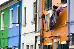 The colors of Burano Royalty Free Stock Image