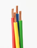 Colors of cable Royalty Free Stock Photos