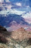Colors Of The Canyon. View of Grand Canyon,South Rim. Arizona stock images