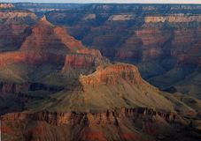 Colors of the Canyon. I took this afternoon shot from one of the South Rim locations Stock Photo