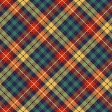Colors check plaid seamless pattern Stock Images