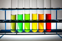 Colors of chemistry Stock Photography