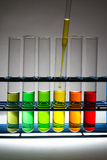 Colors of chemistry - Series 2 Royalty Free Stock Photo