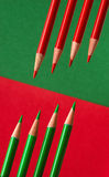 Colors of Christmas Stock Photography