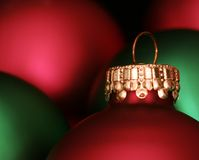 Colors of Christmas Stock Images