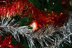 Colors of  the Christmas Holiday Stock Image