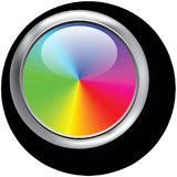 Colors, Chromatic Circle, Red Royalty Free Stock Photography