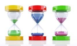 Colors_clock Stock Photos
