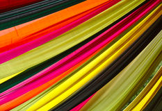 Colors. Colorful cloth decoration background textile texture India royalty free stock image