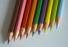 Colors crayons Royalty Free Stock Image