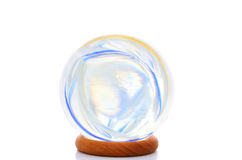 Colors in a crystal ball Royalty Free Stock Photos