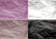 colors den olika paper textilen texturerad Royaltyfri Bild