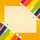 Colors. Different colors on abstract paper background Royalty Free Stock Photo