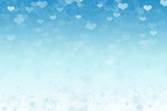 Colors diffuse background. Blue love colors on diffuse background Royalty Free Illustration