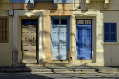 Colors and doors. The color of life Royalty Free Stock Images