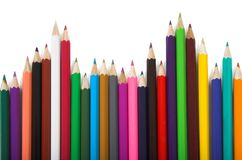 Colors - education statistics Royalty Free Stock Photos