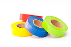 Free Colors Electrician Tape Royalty Free Stock Photos - 19154338