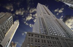 Colors of Empire State Building Royalty Free Stock Photo