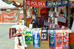 The colors of Euro 2012. Stock Images