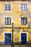 Colors facade Aveiro Portugal Stock Photo
