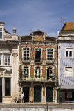 Colors facades Aveiro Portugal royalty free stock images