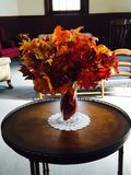 Colors of fall. Fall leave arrangements Stock Images