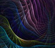 Colors Fanning Abstract Royalty Free Stock Image