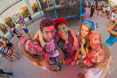 colors festival royaltyfri bild