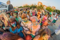 colors festival arkivbild