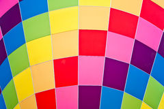 Colors on a fire balloon Stock Images