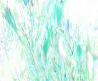 Colors flowing. Like of the abstract painting on the surface of the water royalty free illustration