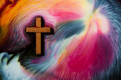 Colors Flowing Salvation Royalty Free Stock Images