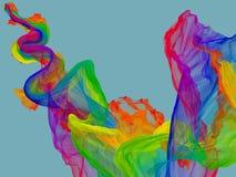 colors flytande Arkivfoton