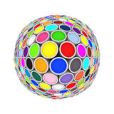 Colors globe Royalty Free Stock Photo
