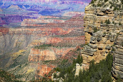 Colors Of The Grand Canyon Royalty Free Stock Photography