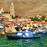 Colors of Greek islands series Stock Photos