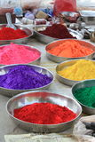 Colors of Happy Holy Festival India Stock Image