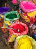 Colors for Holi Festival Royalty Free Stock Photography