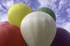 Colors of hot air balloon Royalty Free Stock Images