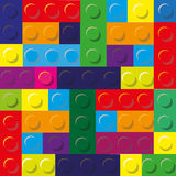 Colors illustration of designer plastic Royalty Free Stock Photos