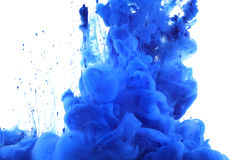 Colors and ink in water. Stock Photography