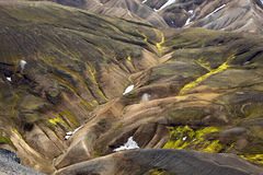 Colors of Landmannalaugar, Iceland Royalty Free Stock Image