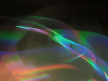 Colors of light. Light reflections Stock Photography