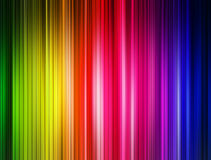 Colors Lines. Background blue, green, purple and red lines. Abstract illustration Stock Photo